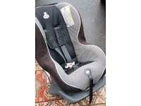 Britax Car Seat - group one - black and grey