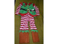 boys 4-5 christmas costume
