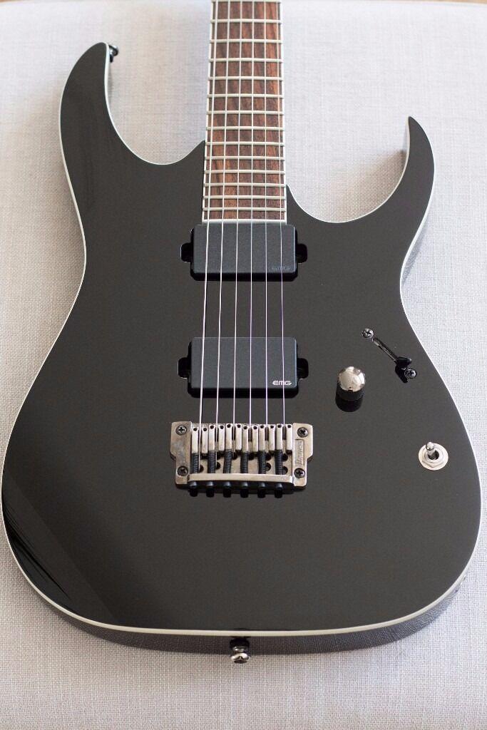 ibanez rgir20fe bk electric guitar emg 81 60 iron label in croft cheshire gumtree. Black Bedroom Furniture Sets. Home Design Ideas