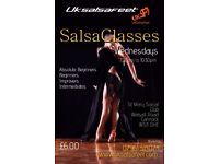 Cannock Weekly Salsa Classes