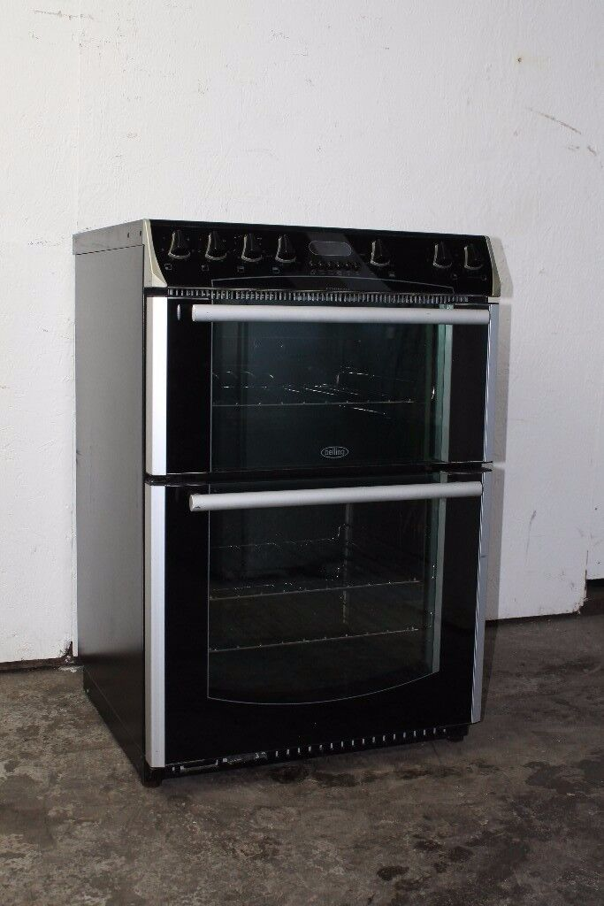 Belling 60cm Ceramic Top Cooker/Oven Digital Display Excellent Condition 12 Month Warranty
