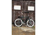 GOKU CYCLES Special Offer! Steel Frame Single speed road TRACK bike fixed gear racing bike 34fd