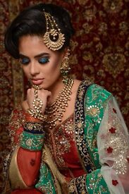 Makeup artist specialising in Asian bridal makeup and hair and party looks