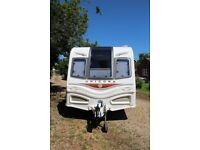 Bailey Unicorn Valencia touring caravan 2013 4 berth.
