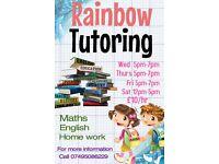 Rainbow tutoring