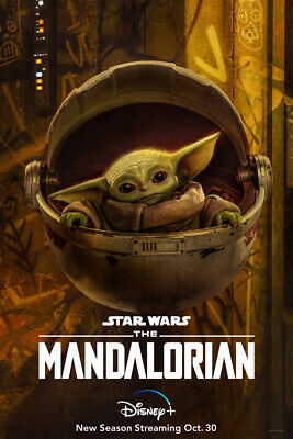 The Mandalorian Season 2 Character Poster Print 11x17 DISNEY STAR WARS GROGU