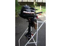 Mercury 3.5hp Four Stroke short shaft Outboard Motor