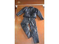 Ladies akito two piece bike leathers
