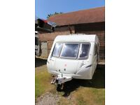 Abbey Vogue 460 touring caravan with Motor Mover 2007