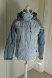 Ladies Columbia Titanium Ski Jacket - Light Blue/Mid Blue Colour - Size Small