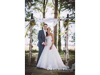 ALLURE bridal wedding dress - 2710 - size 8 - used/altered