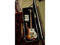 Beautiful rare Rickenbacker 4003 Bass in Montezuma Brown (2004)