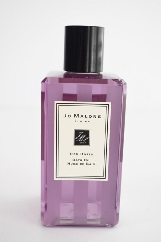 Jo Malone RED ROSES Bath Oil Regular Size 8.5oz / 250ml.