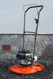 """Flymo XL500 petrol hover mower, 50cm / 19"""" cut lawnmower"""