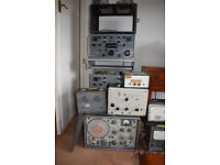 SHORTWAVE RADIO EQUIPMENT, JOB LOT INC R-390A RADIO RECEIVERS