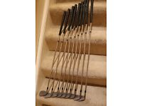 Titleist DCI Golf Irons - full set - 3-SW - Stiff shafts except SW which is a regular shaft.