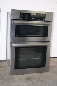 Zanussi Built-In Double Oven/Cooker Digital Display Excellent Condition 12 Month Warranty
