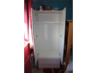 White formica Wardrobe suitbable for children's room