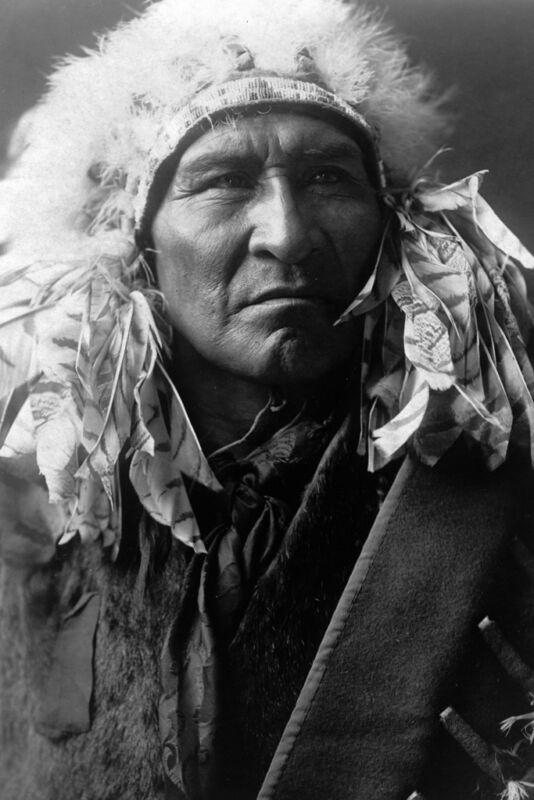 New 5x7 Native American Photo: Bread, an Apsaroka Indian - Crow Nation - 1908