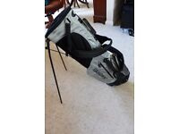Brand new Masters golf bag with stand or for use on trolley.