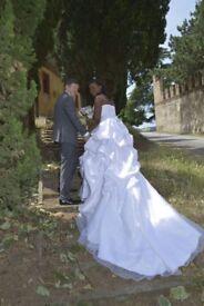 Stunning Wedding Dress UK size 12