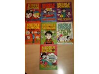 7 x Middle School by James Patterson books
