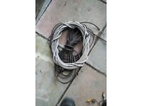 Load of cables, FREE TO COLLECTOR