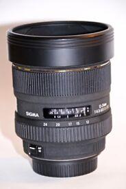 Sigma 12 - 24mm 1:4.5-5.6 DG HSM Canon Fit