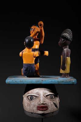 Art African Mask Guélédé Yoruba