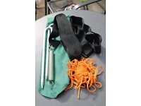 Awning anchor strap with pegs