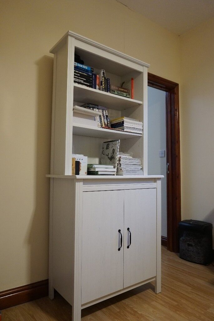 Ikea Brusali White High Cabinet With Door For In Birmingham Mint Condition