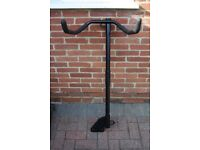 Witter Cycle Carrier Flange Towbar Mounted Cycle Carrier with Cycle Retaining Strap