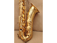 Tenor saxophone Selmer Mark VI, made in 1965