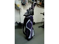 Fazer XS Golf Clubs and Bag for sale - as new