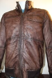 100% REAL LEATHER JACKETS LOT ALL NEW TO CLEAR ABOUT 25 IN NUMBER 20 PER PIECE FIXED PRICE