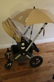 Bugaboo Cameleon Travel System in Sand, Good Condition and Cleaned throughout