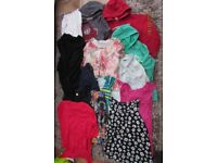 Ladies/Girls Bundle of clothes. Size 12. VGC. 14 items. £13.50. Torquay. Hoodies, tops, leggings.