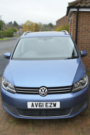 VW Touran diesel auto DSG 7-seater very low mileage long MOT great condition FSH