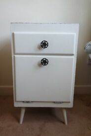 Cute bedside table, Shabby chick, Used