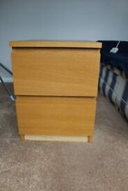 IKEA 2 drawer cabinet
