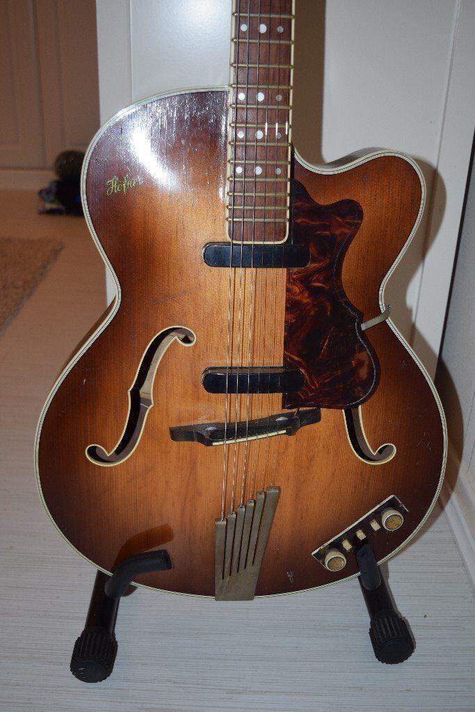 hofner president 1960s guitar