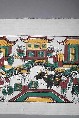 Art Asia Print, Slant of Dong Hô 5