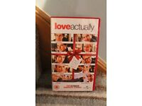 Love Actually VHS tape
