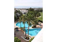 "Timeshare with Golf access, Fuengirola, Spain. 4 occupant. Peak Summer ""Super red"" week"