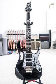 Ibanez Steve Vai Signature JEM 555 BK in Black guitar