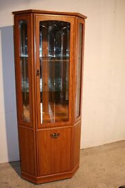 Corner display cabinet / unit . FREE DELIVERY IN BELFAST!