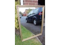 Gold Framed Mirror - Large ** Good Condition **