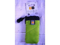 ** NEW ** Case Logic (USA) universal padded pouch in lime green/black. £2. Happy to post.