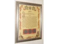 Clan Grant framed history
