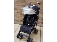Maclaren Techno XT Black And Silver Stroller/Pushchair/Pram